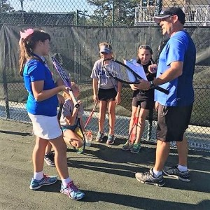 Multiple events led CFCA coach Jay James into teaching tennis