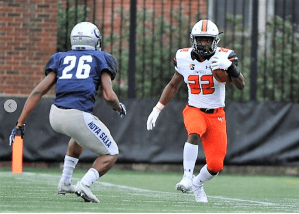 Defense leads Campbell to 13-8 win at Georgetown