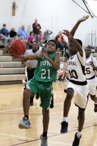 Greenwaves split middle school basketball games at Central