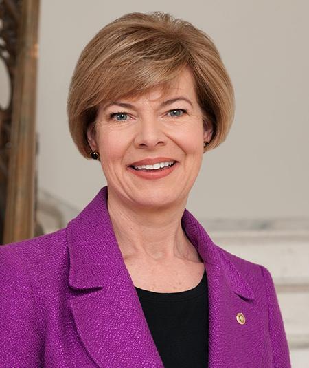 US Senator Tammy Baldwin