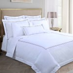 Dunnes Stores Mink Francis Brennan The Collection Mink Double Stripe Duvet Cover