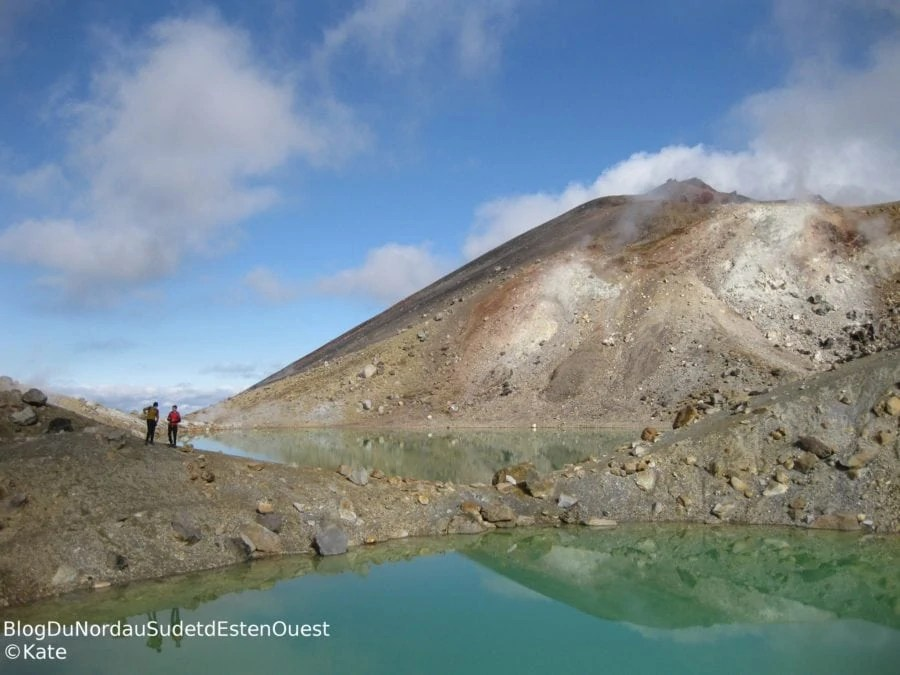 Tongariro Emerald Lake Nouvelle-Zélande Working Holiday PVT