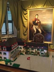 Le Château de Penthes miniaturisé grâce à 10000 briques LEGO ®