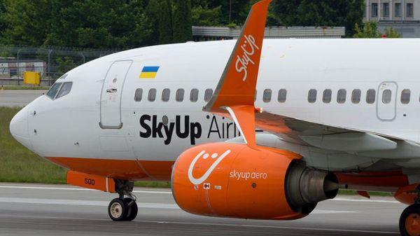 Авиакомпания SkyUp намерена запустить рейсы из Киева в Брно с 25 апреля