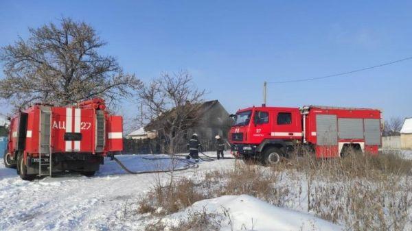 Пожар в Павлограде: на пожаре погиб ребенок, задержали подозреваемого