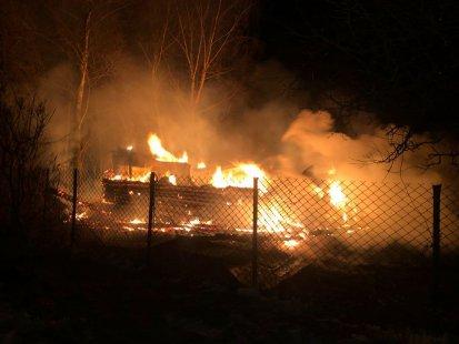 На Сумщине дотла сгорел жилой дом   Новости Сум