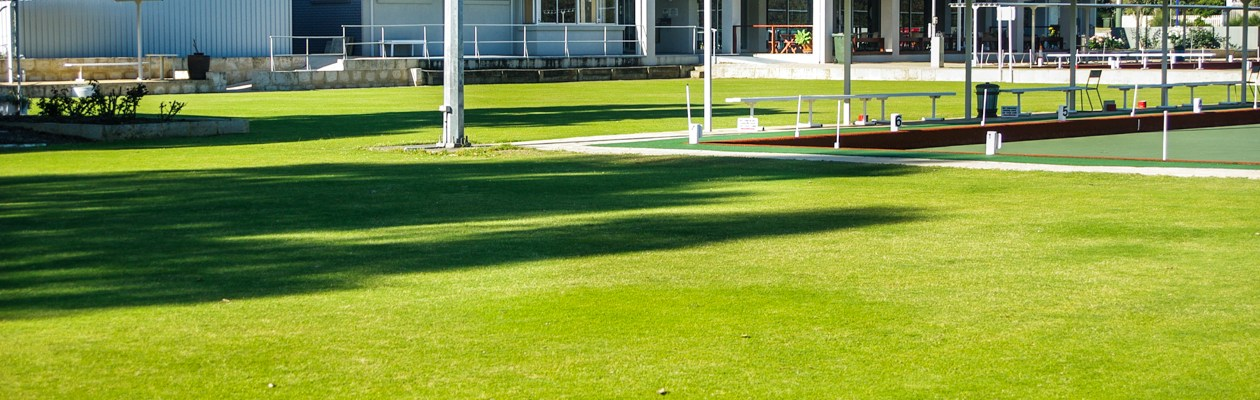Croquet greens at Dunsborough Country Club
