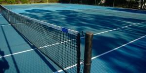 Tennis court at Dunsborough Country Club