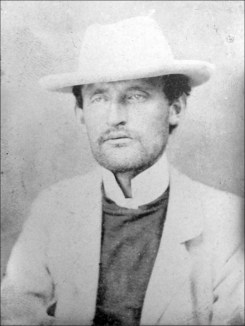 Portrait photographique d'Edvard Munch