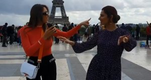 ماہرہ خان کا لبنانی اداکارہ کے ساتھ رقص سوشل میڈیا پر چھاگیا
