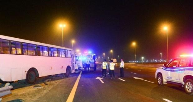 شارجہ: خوفناک ٹریفک حادثہ،21 افراد زخمی