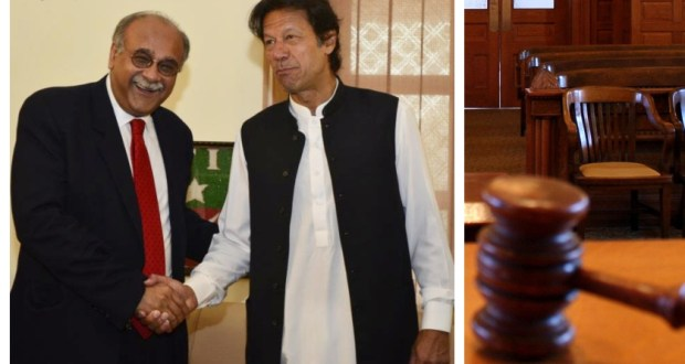 Following his failure to submit his response before a session court for the hearing of 35 punctures case, former interim Chief Minister Punjab, Najam Sethi has been fined Rs 100. Additional Session Judge, Muhammad Amjad Khan directed Najam Sethi to submit the fine. The fine has been imposed after Sethi didn't submit his written statement before the court despite multiple notices.