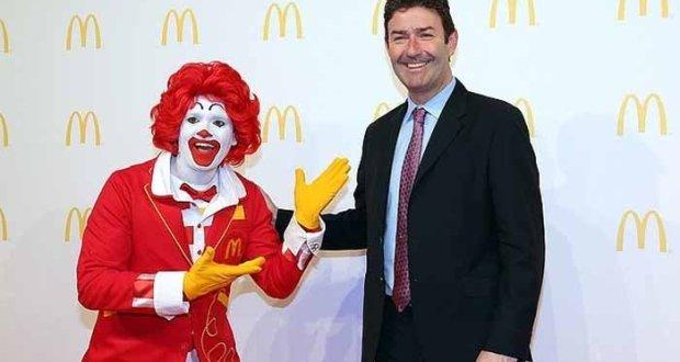 میک ڈونلڈ کے سی ای او ملازمت سے برطرف
