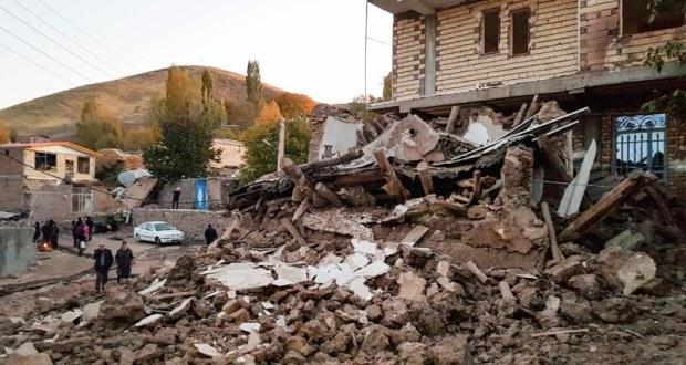 ایران میں زلزلے سے 5 افراد ہلاک، 300 سے زائد زخمی