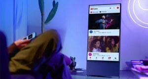 سام سنگ کا 'ٹک ٹاک' کو پسند کرنے والوں کے لیے انوکھا ٹی وی