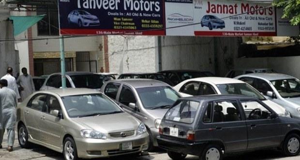 رواں مالی سال کی پہلی ششماہی میں گاڑیوں کی فروخت میں 43 فیصد کمی