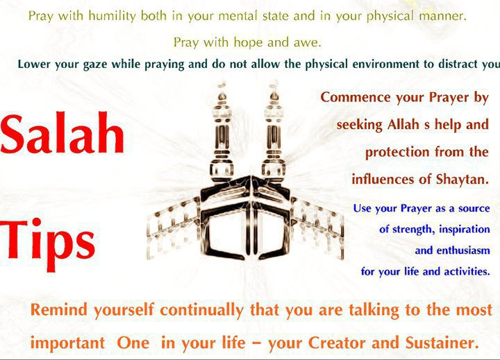 Guilty of not concentrating in salah? (1/2)