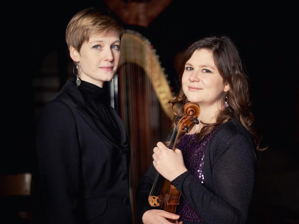 Duo ambre Anne Lombard violon Fanny Fuchs harpe