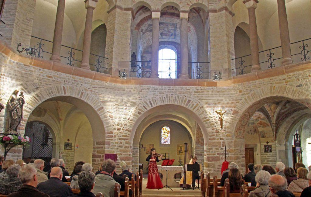 concert abbatiale Ottmarsheim duo Ambre
