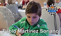 Pablo Martínez - Campeón de España Sub08 2017