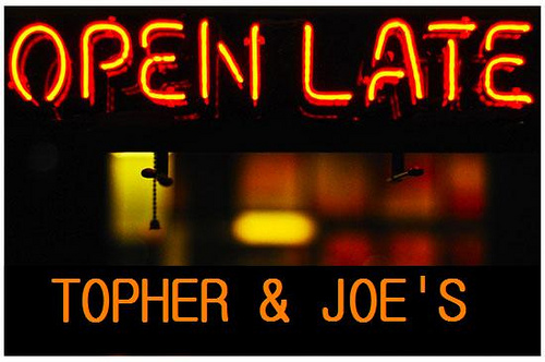 Topher & Joes Open Late
