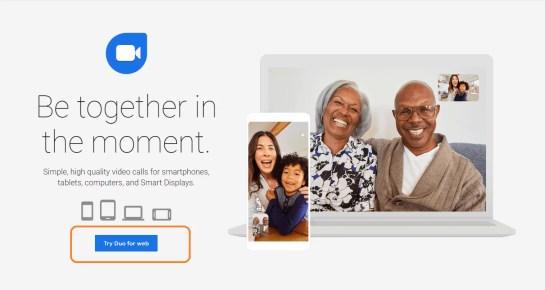 Google Duo Web