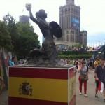 Galeria warszawskich syrenek Euro2012