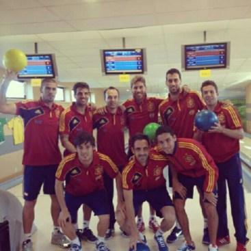 Sergio Ramos z kolegami w Hotelu Mistral w Gniewinie w pomorskiem