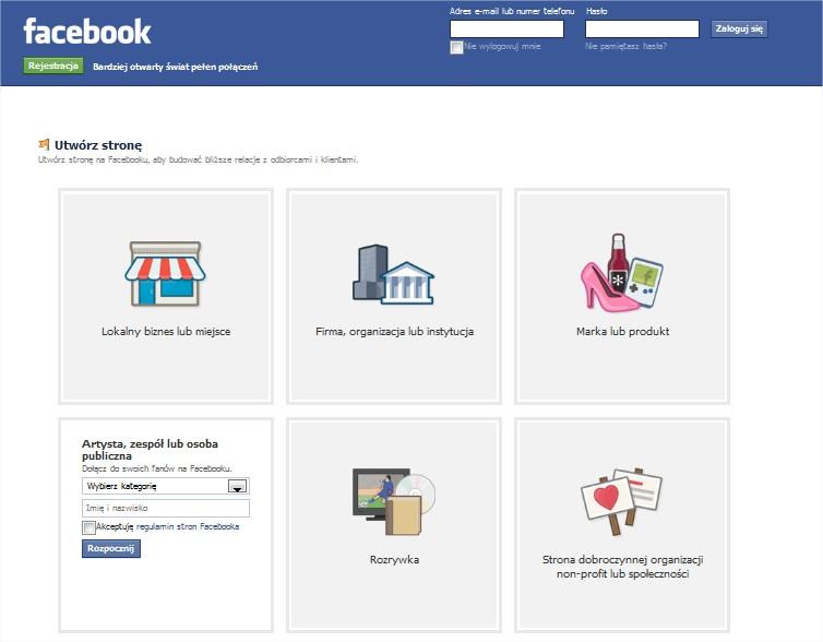 facebook-fanpage-strona-firmowa-hotelu-muzeum-atracji-turystycznej-restauracji