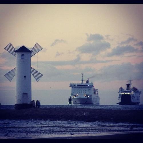 Stawa Młyny - symbol Świnoujścia. Polska atrakcja nad Bałtykiem