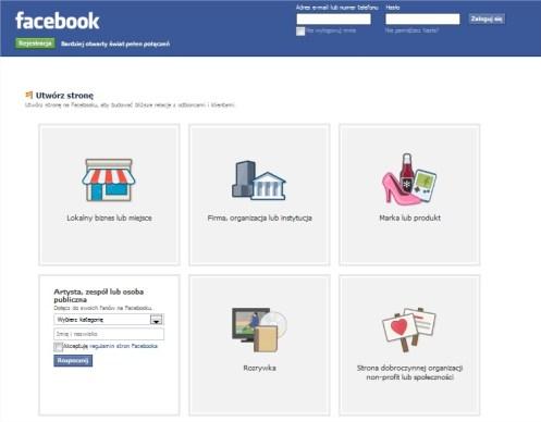 Jak utworzyć FanPage czyli stronę firmową na Facebooku firmy, hotelu, muzeum, atrakcji turystycznej, restauracji czy informacji turystycznej