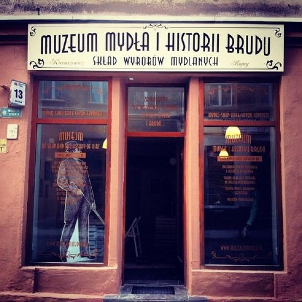Bydgoszcz muzeum mydła i historii brudu to atrakcja turystyczna nie tylko dzieci