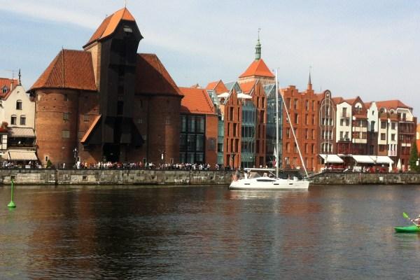 Gdańsk zwiedzanie smartfon qr kod gdansk4umobile w Gdańsku