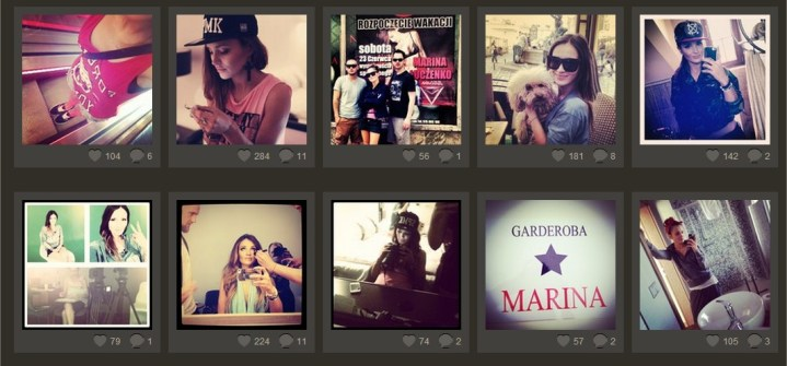 Marina Łuczenko na Instagramie