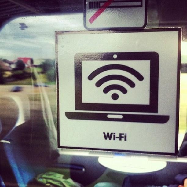 Internet wi-fi dostępny w pociągu Norwid TLK Intencity relacji Gdynia - Sopot - Gdańsk - Warszawa - Kraków