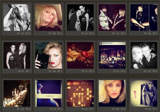 Polskie Modelki Ania Rubik na Instagramie