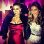 Instagram zdjęcia Weroniki Rosati Los Angeles Oscary 2013