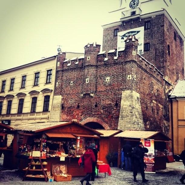 Brama Krakowska Kiermasz Bożonarodzeniowy