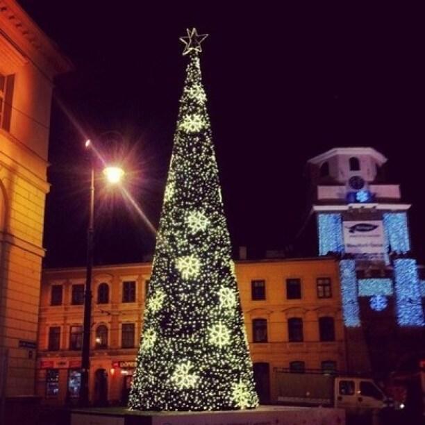 Świąteczny kiermasz bożonarodzeniowy w Lublinie