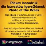 Instagramowa akcja IgersGdansk i Instadruk w Polsce