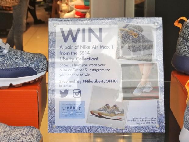 #NikeLibertyOFFICE-nike-konkurs-na-instagramie-twitterze-londyn-richmond-sklep-marka-case-studies