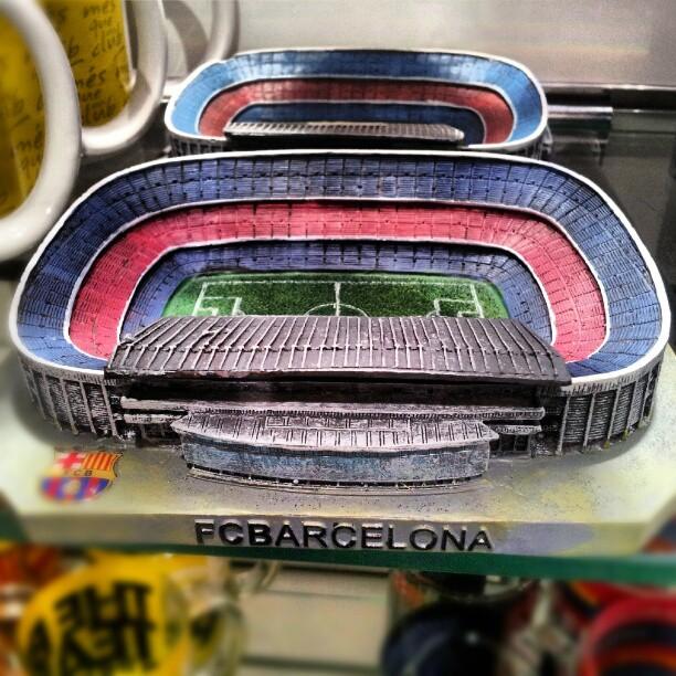 Pamiątka z Barcelony - Stadion Camp Nou b8c3a7add1c