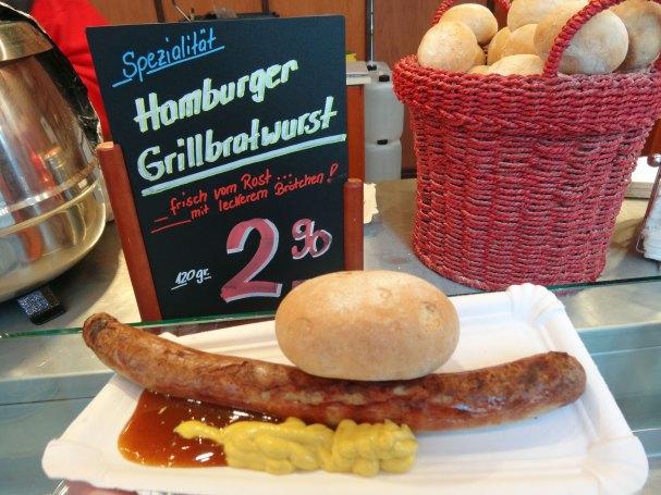 Hamburger Grillbratwurst