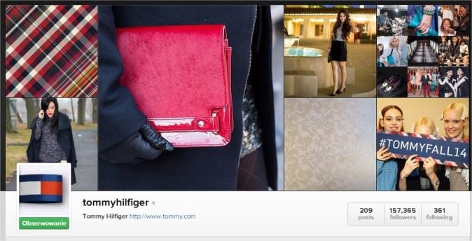 Tommy Hilfiger oficjalny profil projektanta na Instagramie instagram.com/tommyhilfiger