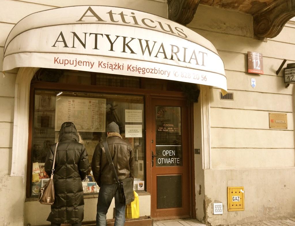 Antykwariat-Atticus-Warszawa-krakowskie-przedmiescie