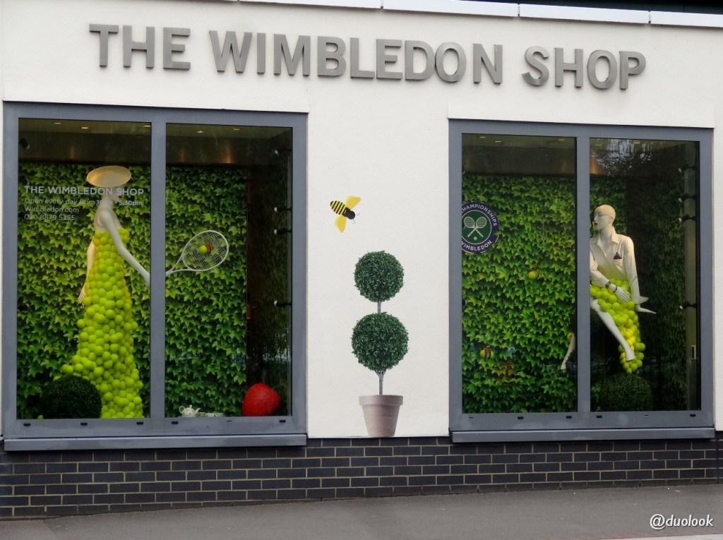 Zakupy w Londynie Wimbledon