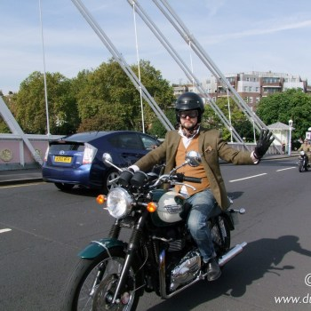 The Distinguished Gentleman's Ride 2014 London DGR2014