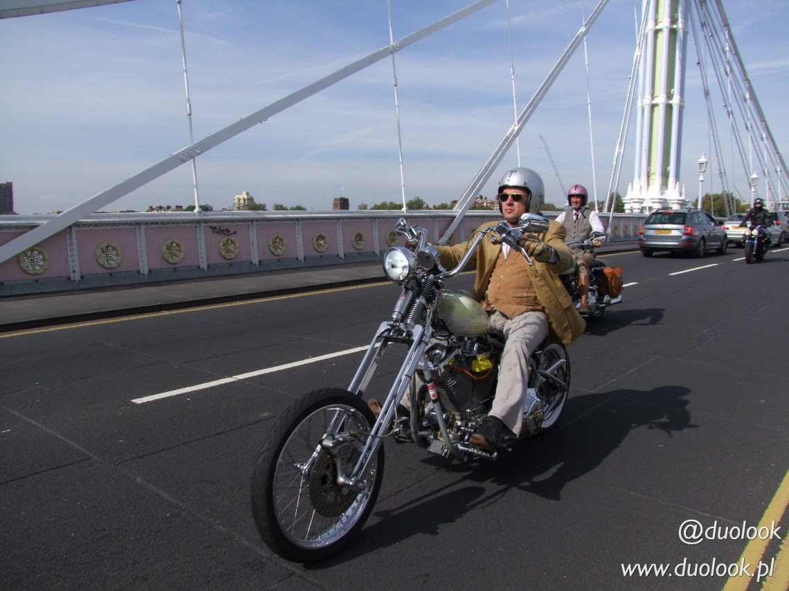 The Distinguished Gentleman's Ride 2014 Londyn #DGR2014