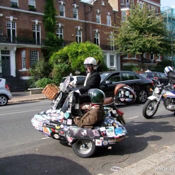 The Distinguished Gentleman's Ride 2014 London