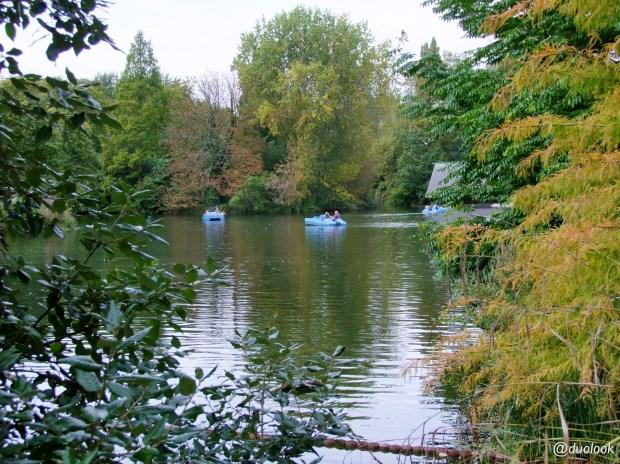 Staw w parku Battersea